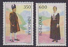 Faroe Is. 1989 Nordic Postal Co-operation Set UM SG179-80 Cat £3.50
