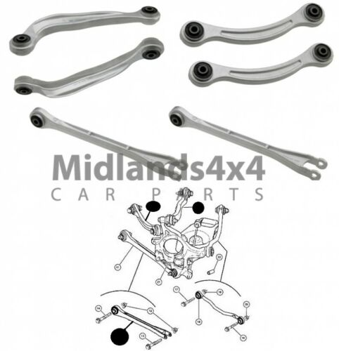 For CHRYSLER 300C RWD 05/> REAR SUSPENSION CONTROL ARM TRACK ROD SET 6PCS