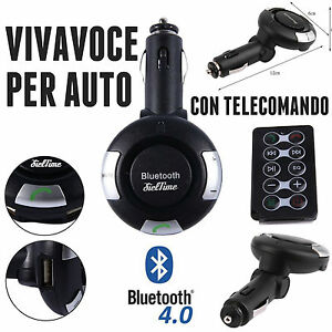 KIT-VIVAVOCE-BLUETOOTH-V4-0-PER-AUTO-ACCENDISIGARI-MICROSOFT-HUAWEI-P9-P10-HTC