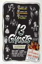 13 Ghosts Poster 01 A2 Box Canvas Print