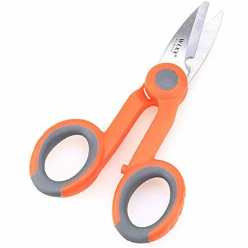 Optic Fiber Cable Cutter Scissors Stainless Steel Electrical Shears Precision