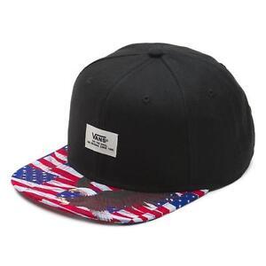 7d80607f655 Vans Off The Wall Walmer Black Free Bird Mens Snapback Hat Cotton ...