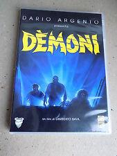 DVD - DEMONI - DARIO ARGENTO LAMBERTO BAVA - MEDUSA 1985 -  A8
