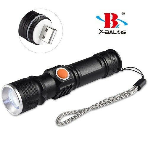 Torch bl-515 Attica Military LED USB Rechargeable CREE t6