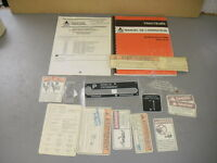 Agco Allis 72510185 Operators Manual & Decals Kit Tractor Models 9670 9690