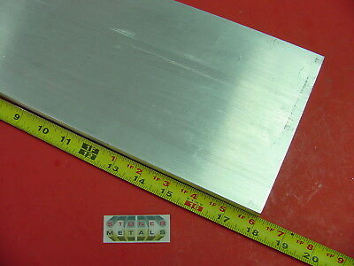 "3//4/"" X 6/"" ALUMINUM 6061 FLAT BAR 36/"" long T6511 .75/"" Solid Plate New Mill Stock"