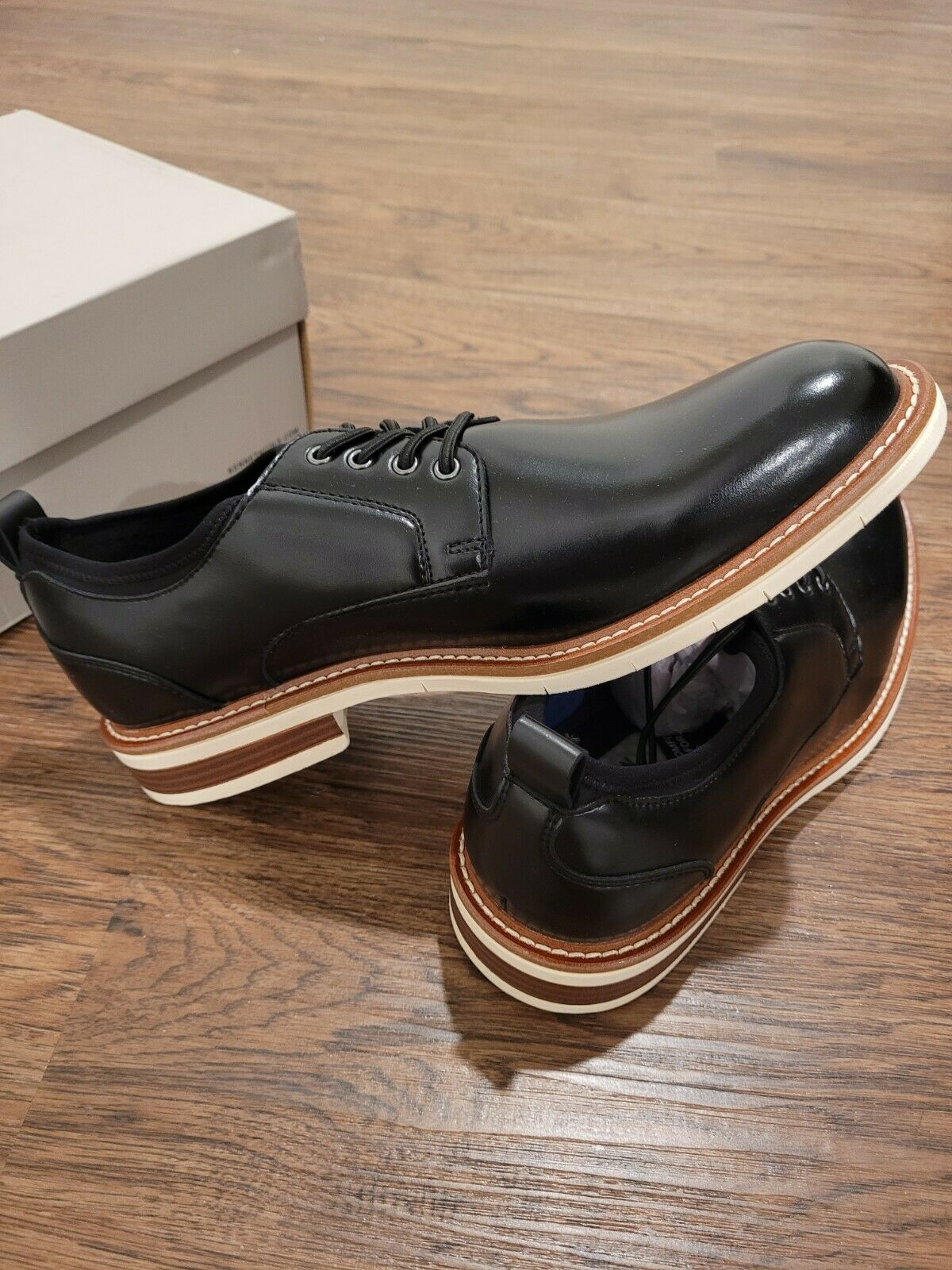 Kenneth Cole REACTION Men's Klay Lace Up G with a Flexible Sole OxfordSize 9.5