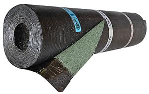 Rotolo Guaina impermeabilizzante bituminosa Ardesiata Verde Dibiplus 10mt 4Kg/mq