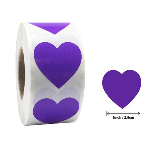500pcs//set heart Labels stickers party activity favors stationery sticker JO