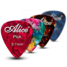 TEAR DROP PLECTRUMS PICKS 12 Mixed 3 Colours /& 3 Gauges Celluloid Teardrop Plecs