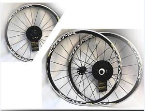6851c297ccd New 2018 Mavic Cosmic Elite UST Clincher Road Bike 700c F&R Wheels ...