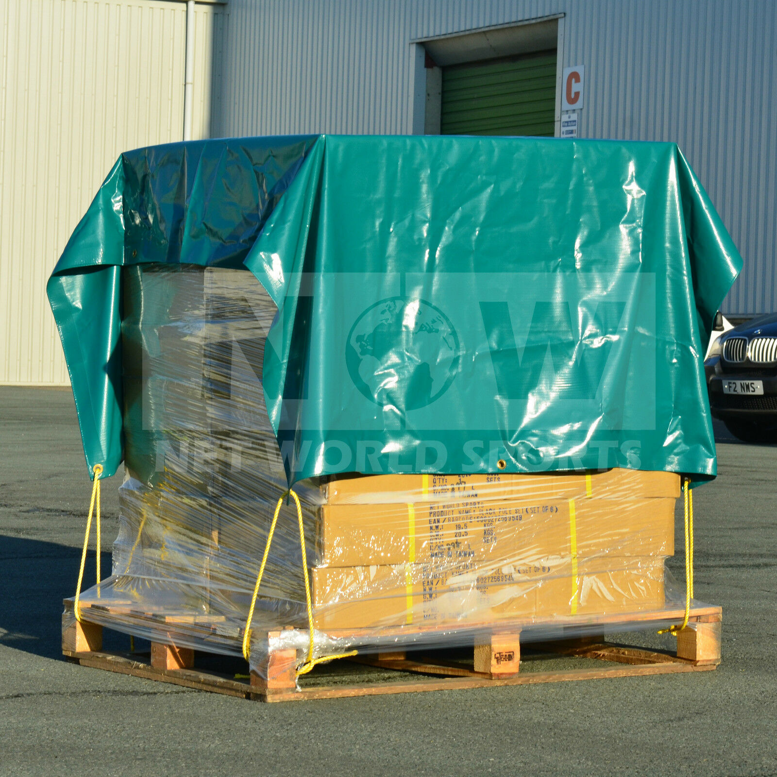 Heavy Duty Tarpaulins [300gsm   9oz] – All Sizes from 8ft x 5ft to 25ft x 25ft