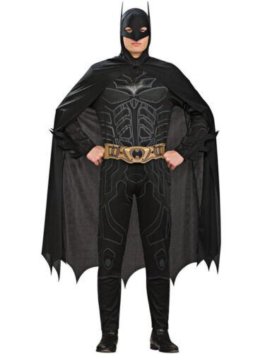 Adult Licensed Batman Dark Knight Rises Fancy Dress Superhero Costume Med XL