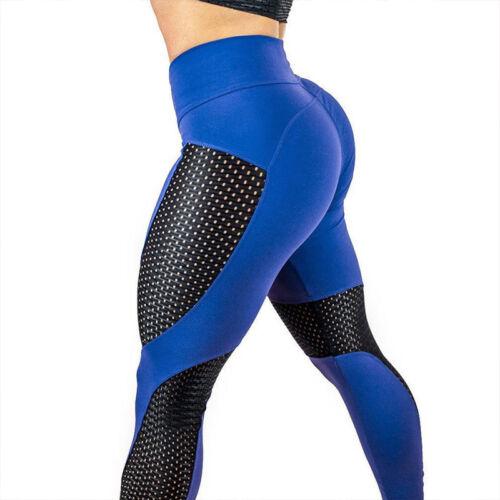 Damen Push-up Leggings Yoga Sport Fitness Leggins Training Jogginghose Laufhose