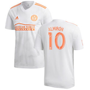 buy popular daf75 dfcd1 adidas Atlanta United FC MLS 2018 Almiron # 10 Away Soccer ...