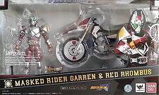 S.H. Figuarts Kamen Rider Garren and Red Rhombus Set Masked Rider Blade Tamashii