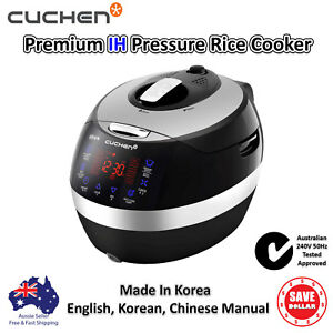 New Cuchen Rice Cooker Ih Induction Pressure Multi 6 Cups Korean Made 240v 50hz Ebay