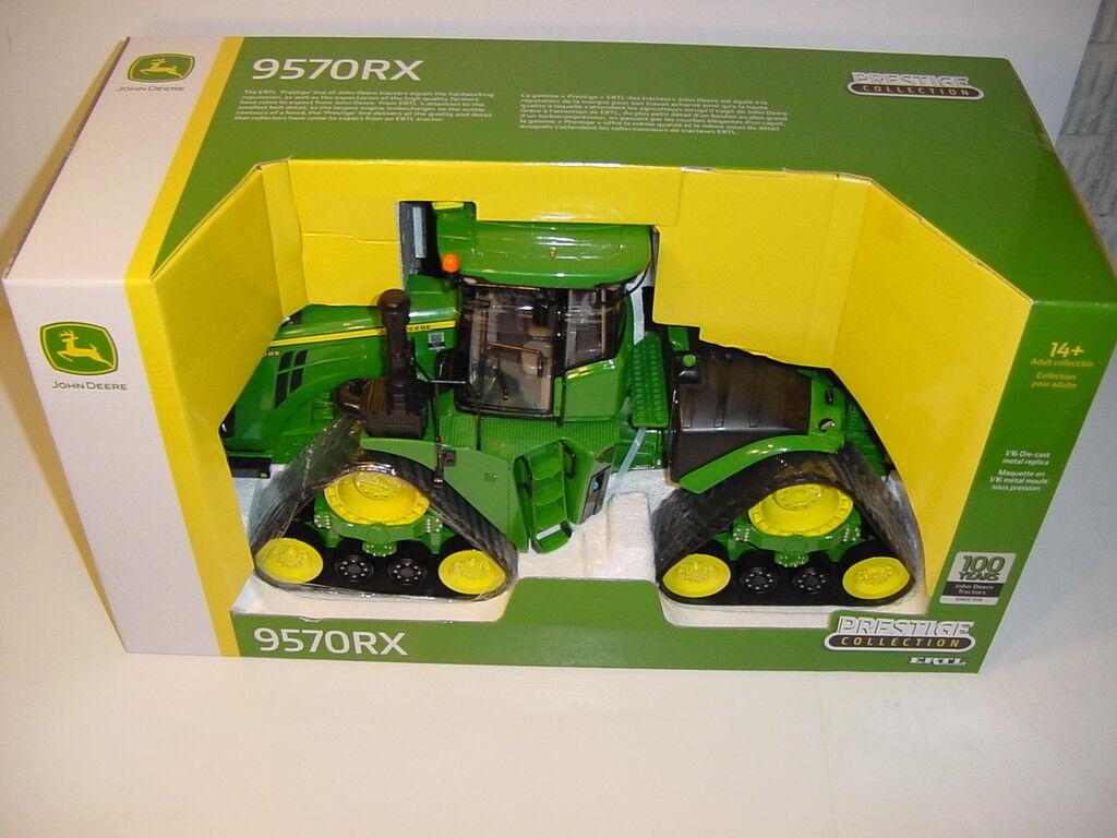1/16 John Deere Edición Limitada 9570RX Verde Tractor aniversario de 100 años Nuevo En Caja
