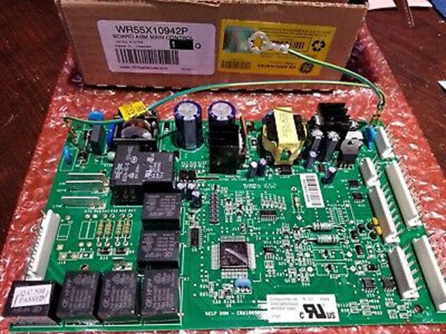 NEW ORIGINAL GE Refrigerator Main Control Board - WR01F00173 or WR55X10942/P