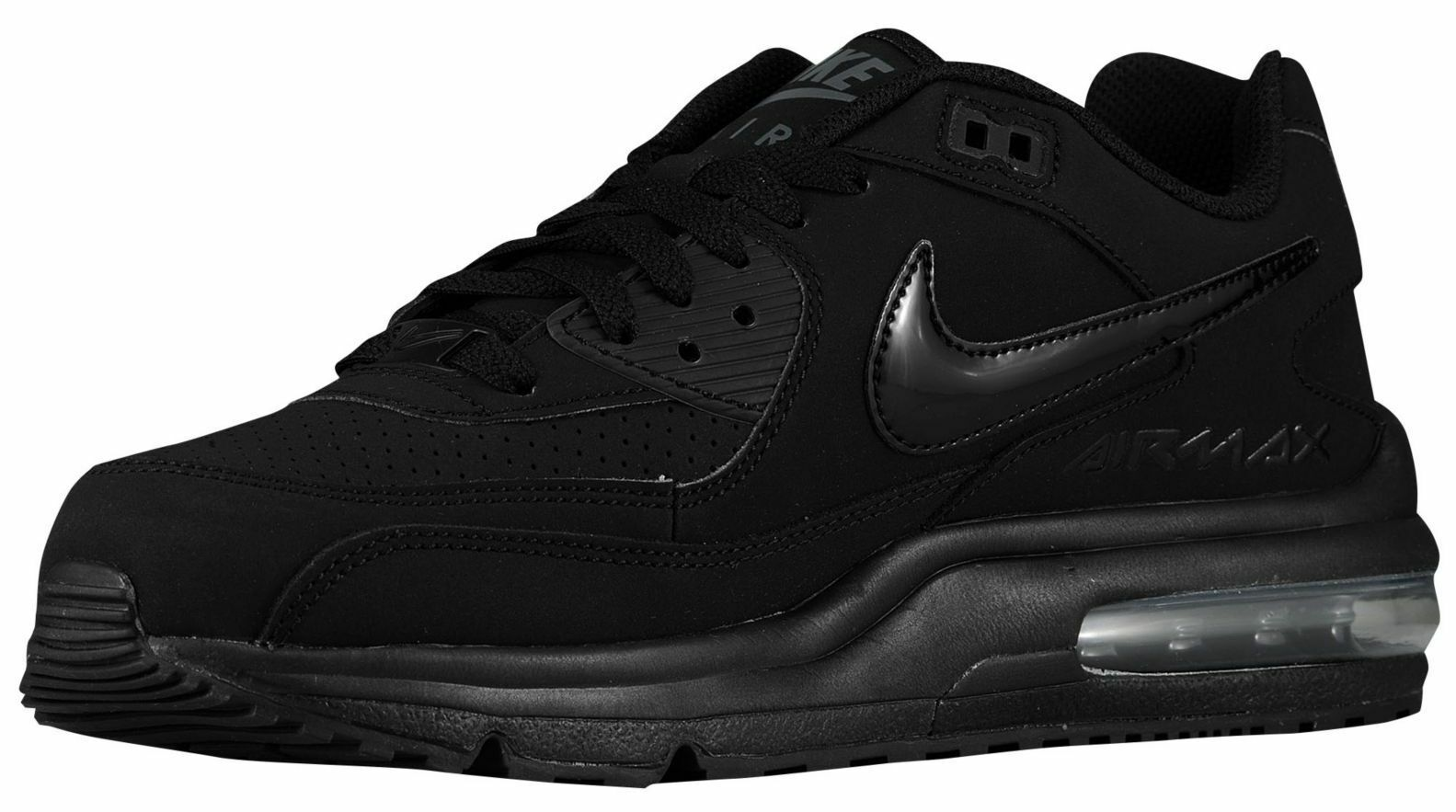 nike air new max wright männer wildleder kandidiere, schwarz, anthrazit new air in box größe fd14c3