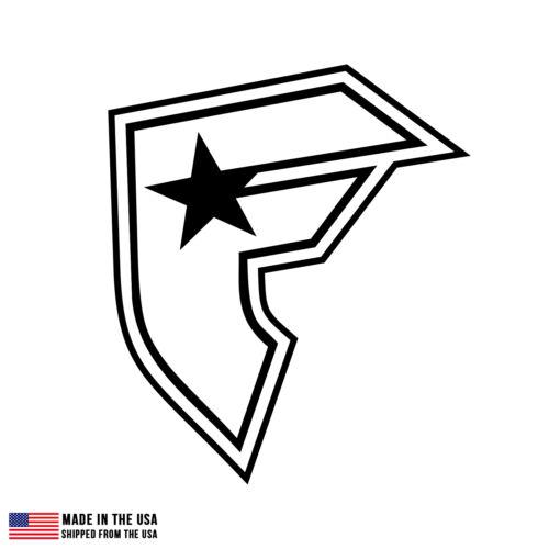 Famous Stars and Straps logo Vinyl Sticker Car Laptop Room Custom Decal