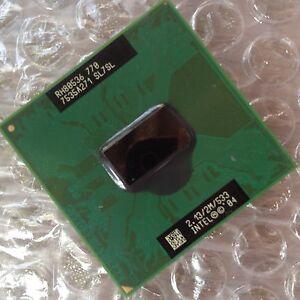 Intel Pentium M 770 P4M SL7SL 2.13GHz 2M 533MHZ FSB SOCKET 479 CPU Processor