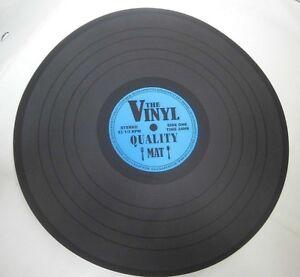 Tischset-Schallplatte-Platzset-The-Vinyl-2-Untersetzer-Durchmesser-39-cm