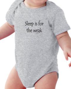 ac76725c0 Image is loading Infant-creeper-bodysuit-Sleep-Is-For-The-Weak