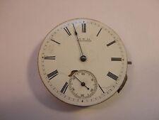 "M42: Antique 1881 Waltham ""Royal""  Pocket Watch Movement"