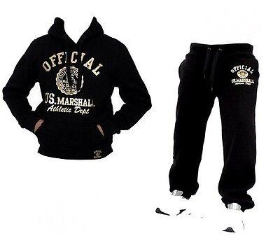 Herren & Damen US-MARSHALL Trainingsanzug Jogging-Anzug Hose und Pullover