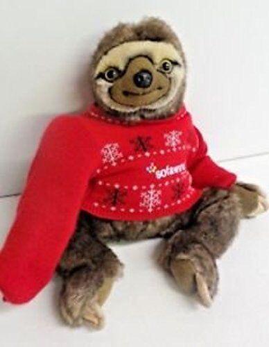 Difficile da trovare RARA EDIZIONE LIMITATA NATALE sofology Sloth Giocattolo Morbido Peluche inutilizzati
