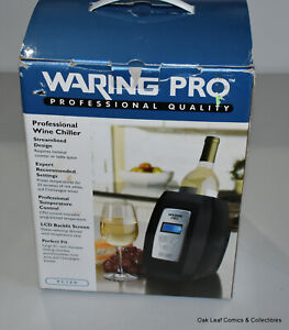WARING PRO Wine Chiller Warmer Counter Top Cooler PC150 33 Wine Menu Presets