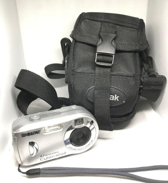 Sony DSC-P41 Cyber Shot 4.1 Mega Pixels Digital Camera - Fully working , Cased +