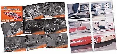 BASE SET /& FOIL CHASE SET SUPERCAR THE GERRY ANDERSON COLLECTION