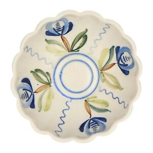 An-Arabia-pottery-bowl-1923-1949-Hand-painted-Floral-Finnish
