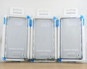 new concept 866d9 3eaf8 Details about Genuine Samsung Galaxy NOTE 5 Protective Clear Cover New  Original Case EF-QN920