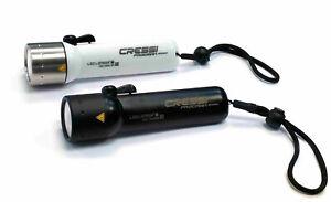 Cressi Frogman 400 Lumen LED Tauchlampe Backup, mit zwei Schaltstufen