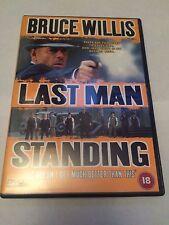 Last Man Standing (DVD, 1999) bruce willis, region 2 uk dvd