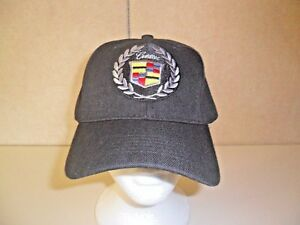 CADILLAC-HAT-BLACK-FREE-SHIPPING-GREAT-GIFT
