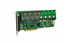 OpenVox A800P40 8 Port Analog PCI Base card + 4 FXS + 0 FXO, Ethernet (RJ45)