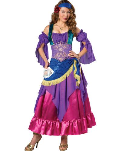 Bohemian Gypsy Esmeralda Renaissance Fortune Teller Adult Costume