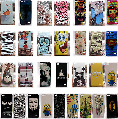 for Vodafone Smart ultra 6 5.5 inches 995N Hard Case Cover Lion Wolf Tiger Owl