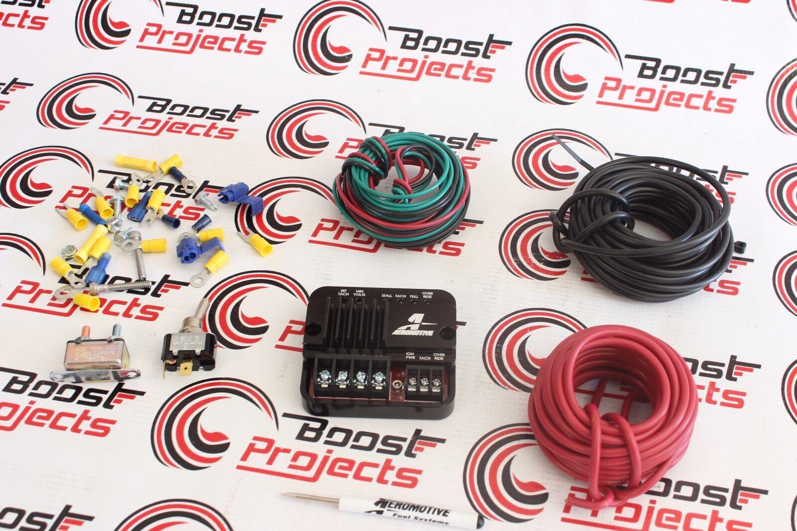Aeromotive 16306 Billet Fuel Pump Speed Controller Ebay Wiring Harness