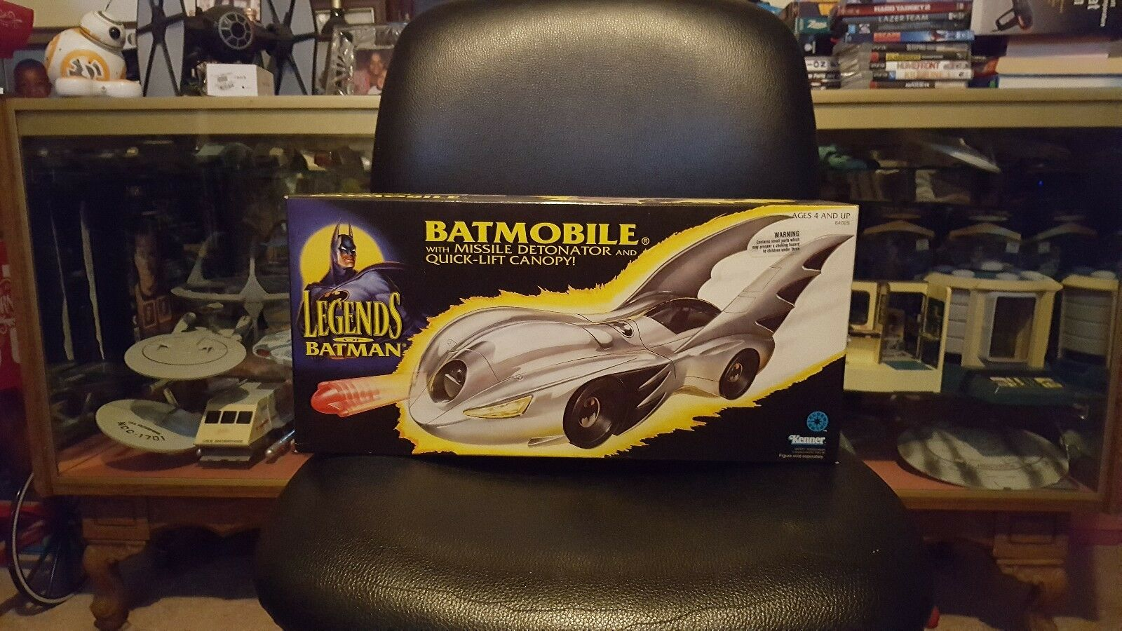 1994 Legends of Batman Batmobile w Missile Detonator Kenner brand new in box