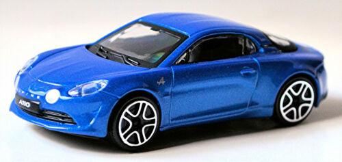 AEF 2017-20 blau blue metallic 1:43 Bburago Alpine A110 Coupe Typ