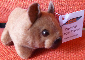 AUSTRALIAN ANIMAL GIFT LORIKEET Soft Material FINGER PUPPET Pack of 6 Puppets