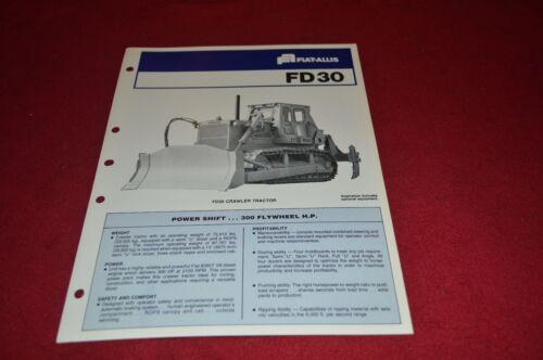 Fiat Allis Chalmers FD30 Crawler Tractor Dealer's Brochure DCPA2 ver2
