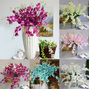 Am-KE-Artificial-Fake-Orchid-Flower-Plant-Home-Office-Wedding-Party-Ornament-H