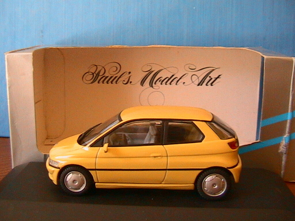 BMW E1 jaune MINICHAMPS 123000 1 43 JAUNE jaune 2 PORTES TWO DOORS
