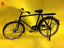 """1//6 Scale Accessories Model Bicycle Bike Cycle 2 Colors F 12/"""" Action Figures"""